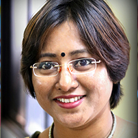 Sinjini Sengupta - WEF - Dwarka - New Delhi - India - 2017