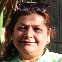 Asha Gupta - WEF - Dwarka - New Delhi - India - 2017